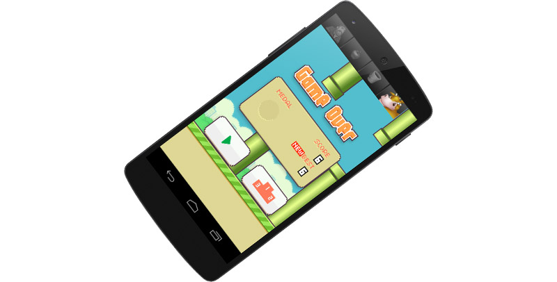 Flappy Bird för Android