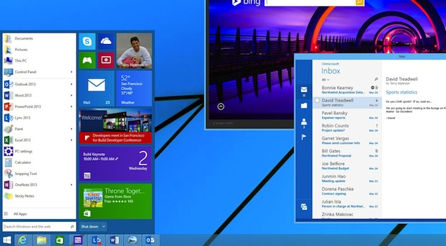 Windows 8.1 startmeny