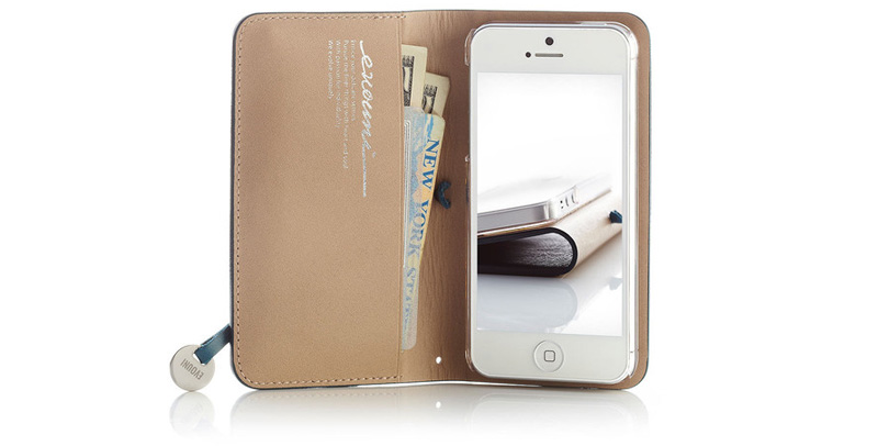 Leather Arc iPhone case