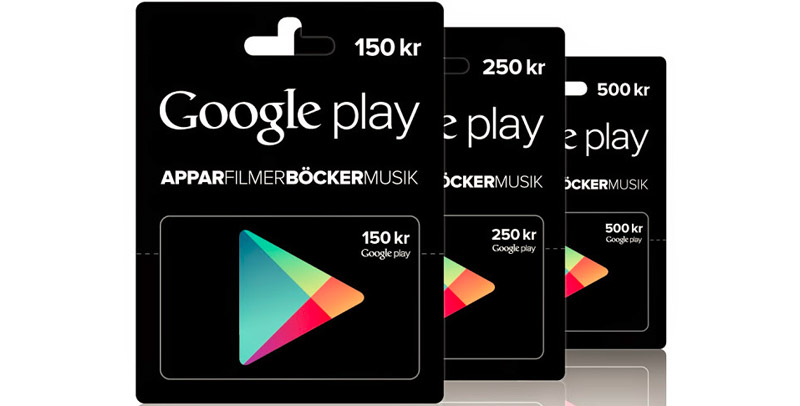 willys google play presentkort