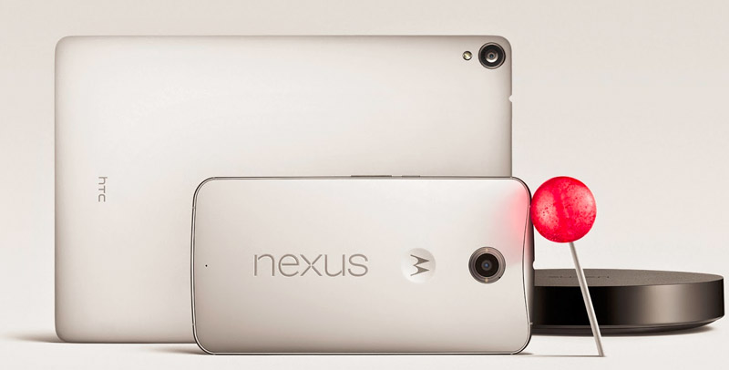 Nexus 6, 9 och Player