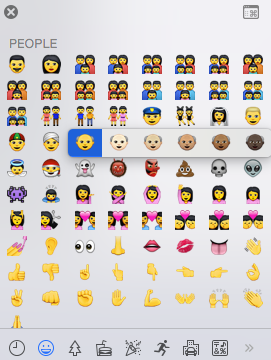 Apples nya emojis